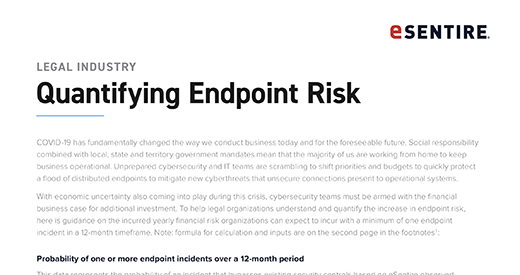 Legal Industry Quantifying Endpoint Risk 520x275